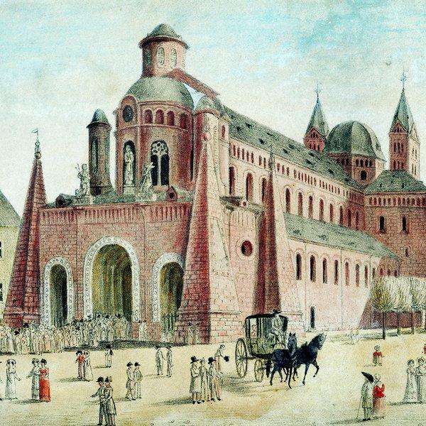 Barocke Architektur   Architektur Dom Zu Speyer