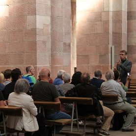 Guided tour through Speyer cathedral