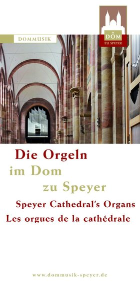 Cover Flyer Orgeln im Dom